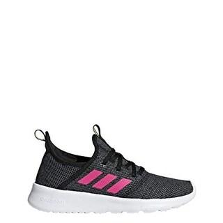 Adidas Unisex Cloudfoam Pure, Black/Shock Pink/Grey