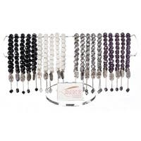 Club Pack of 24 Many Hearts Bracelets with Display 7""