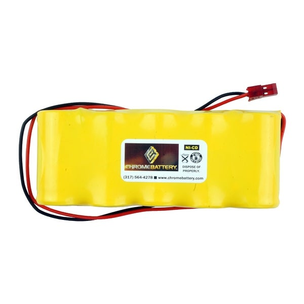 Emergency Lighting Replacement Battery for Interstate - NIC0636