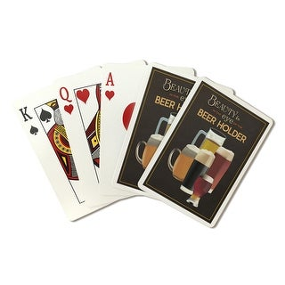 Beauty Eye of the Beer Holder Glasses - LP Artwork (Poker Playing Cards Deck)