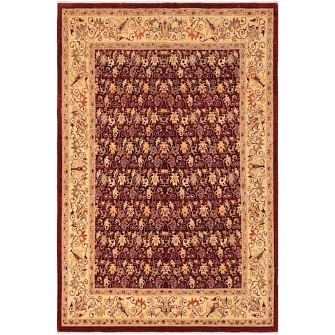 """Bohemien Ziegler Winnie Hand Knotted Area Rug -7'11"""" x 10'0"""" - 7 ft. 11 in. X 10 ft. 0 in."""