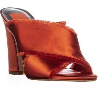 Dolce Vita Henry Slip On Mules, Orange - 8.5 us