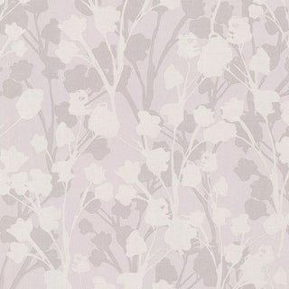 Brewster 347-20125 Lawson Purple Botanical Silhouette Wallpaper - N/A