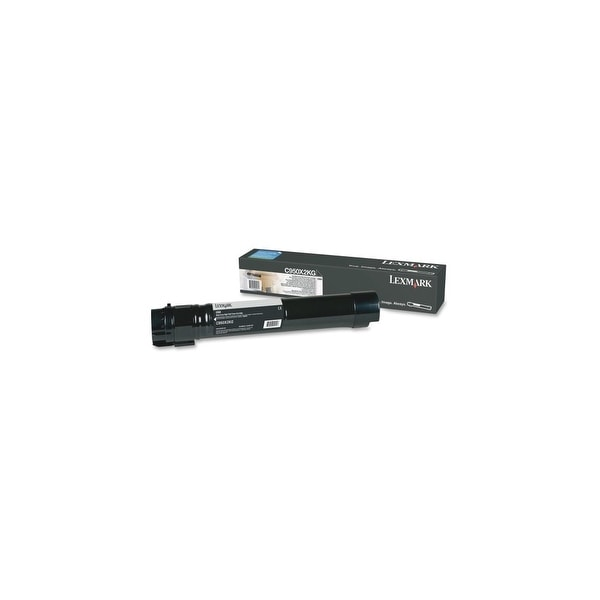 Lexmark C950X2KG Lexmark Extra High Yield Toner Cartridge - Black - Laser - 32000 Page