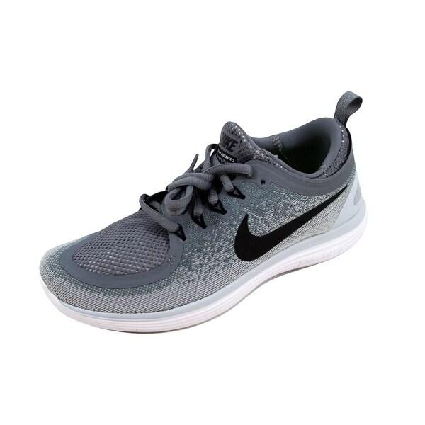 online store 58597 e83cd Shop Nike Women's Free RN Distance 2 Polarized Blue/Volt ...