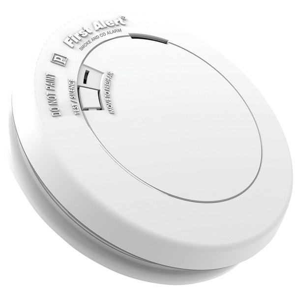 First Alert Prc710 10-Year Sealed-Battery Photoelectric Smoke & Carbon Monoxide Alarm