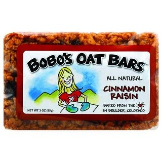 Bobo's Oat Bars - All Natural Cinnamon Raisin Oats Bar ( 12 - 3 OZ)