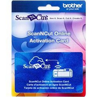 - Brother Scanncut Wireless Activation Card