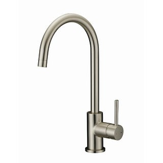 Design House 547737  Single Handle Kitchen Faucet - Satin Nickel