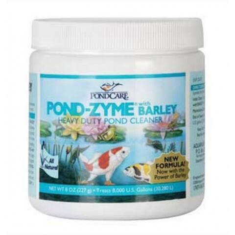 API 146 PondCare Pond Zyme with Barley Enzymetic Pond Cleaner, 8 Oz