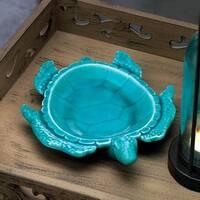 Gorgeous Porcelain Decorative Turtle Dish