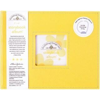"""Doodlebug Storybook Album 8""""X8""""-Bumblebee"""