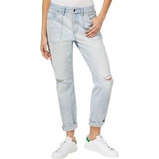 Rachel Rachel Roy Womens Boyfriend Jeans Denim Distressed - 30
