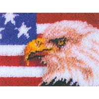 "American Eagle - Wonderart Latch Hook Kit 15""X20"""