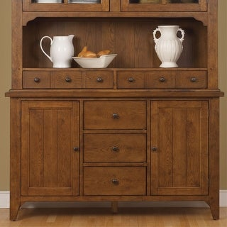 Link to The Gray Barn Wisteria Rustic Oak Buffet Similar Items in Dining Room & Bar Furniture
