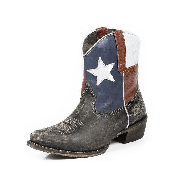 Roper Western Boots Womens Texas Beauty Brown