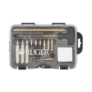Allen 27836 allen ruger univeral handgun cleaning kit in molded tool bx