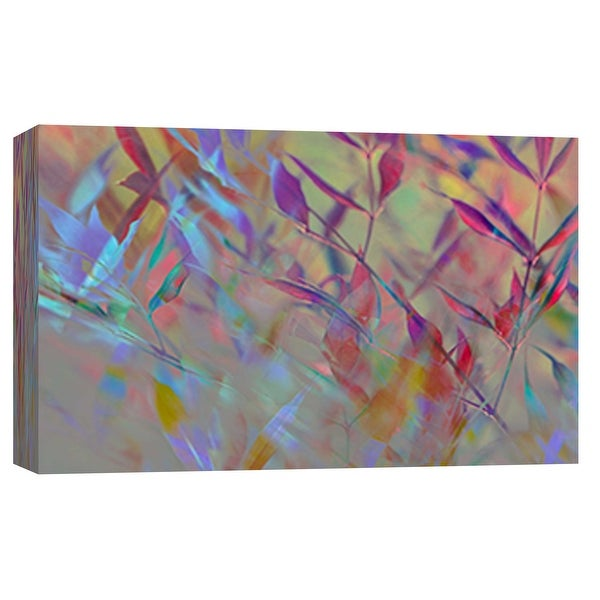 """PTM Images 9-101791 PTM Canvas Collection 8"""" x 10"""" - """"Delusional Grass II"""" Giclee Leaves Art Print on Canvas"""