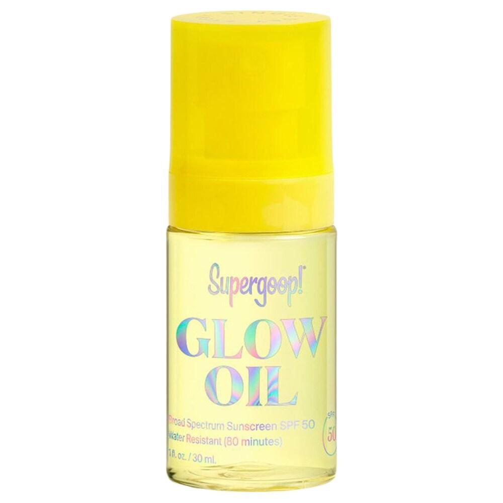 Supergoop Glow Oil SPF 50 1 fl oz / 30 ml (Yellow - Body Sunscreen)