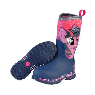 Muck Boots Twilight Sparkle Youths Rugged II Hasbro Extreme Winter Boots-Size 4