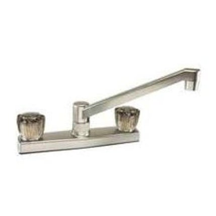 Toolbasix JY-8201BN Kitchen Faucet, Bright Nickel