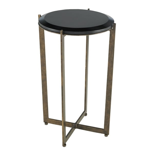 Currey And Company 4194 Galbi Wrought Iron Bar Table   Cupertino/black   N/