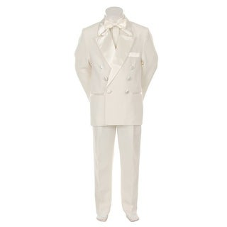 Kids Dream Ivory Formal 4 pcs Special Occasion Boys Tuxedo 10-20