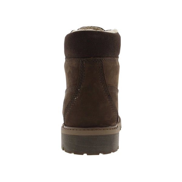 Shop Timberland 6 Inch Classic Prm Shearling Boots Kid's