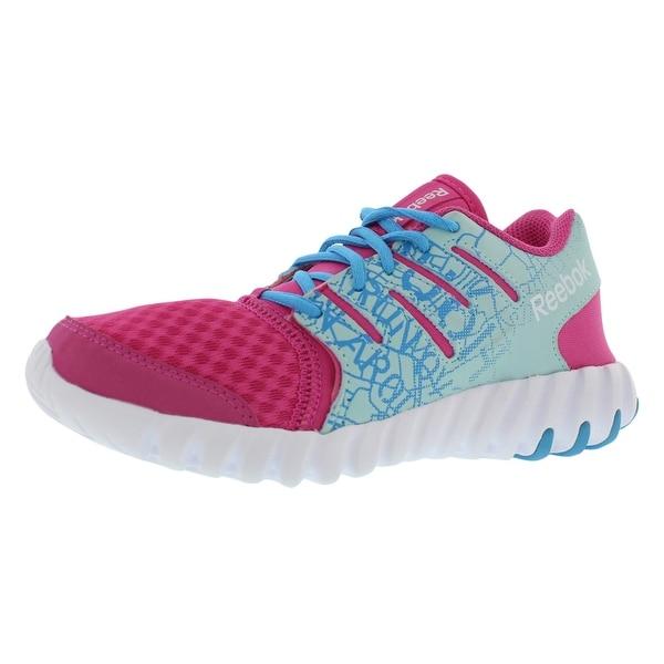 36a5c1f145a Shop Reebok Twist Running Preschool Girl s Shoes - Free Shipping On ...