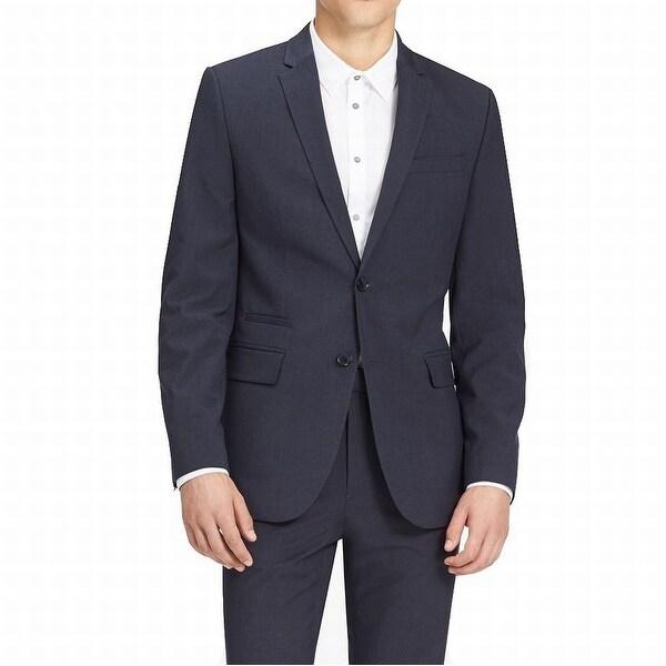 Calvin Klein NEW Blue Infinite Style Mens Size XL Two Button Blazer