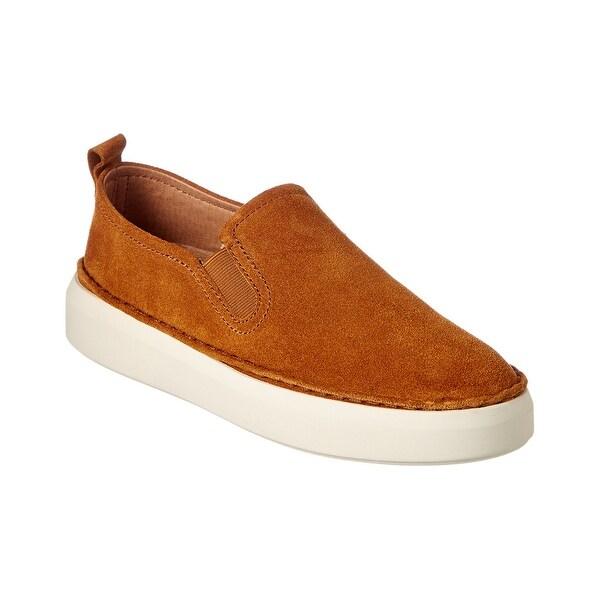 Shop Frye Brea Slip On Suede Sneaker