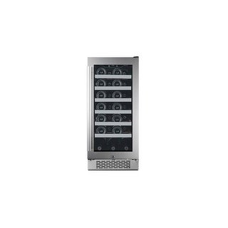 Avallon AWC151SZRH 15 Inch Wide 27 Bottle Capacity Single Zone Wine Cooler with Right Swing Door