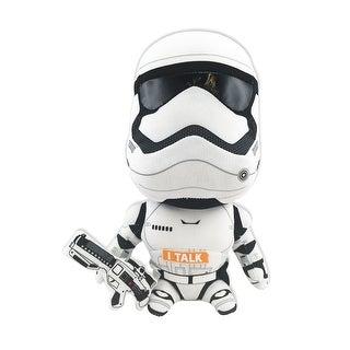 """Star Wars 9"""" Talking Plush: Stormtrooper"""