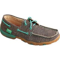 Twisted X Boots Women's WDM0085 Driving Moc Dust Canvas