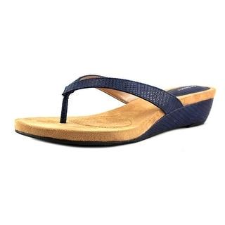 Style & Co Haloe Open Toe Synthetic Wedge Sandal