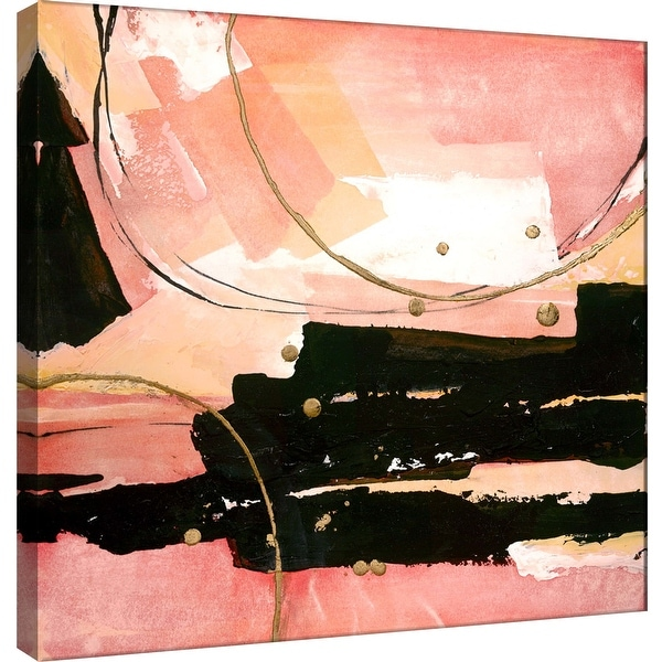 """PTM Images 9-100950 PTM Canvas Collection 12"""" x 12"""" - """"Desert Sunset 2"""" Giclee Abstract Art Print on Canvas"""