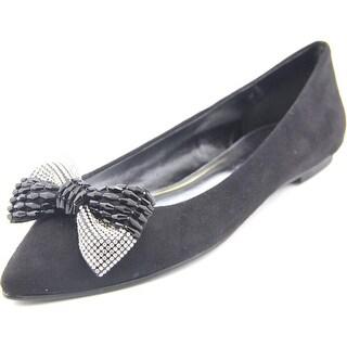 Caparros Zuzana Women  Pointed Toe Synthetic Black Flats