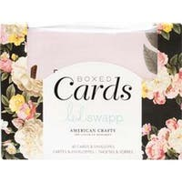 "Floral - Heidi Swapp A2 Cards W/Envelopes (4.375""X5.75"") 40/Box"