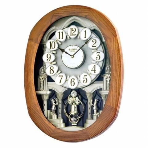 Rhythm 4MH847WD06 Joyful Encore Clock - Oak