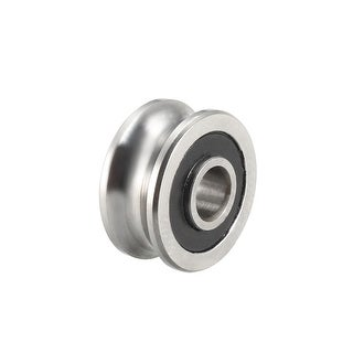 SG10 U-Groove Track Guide Bearing 4x13x6mm Pulley Bearings for Textile Machine