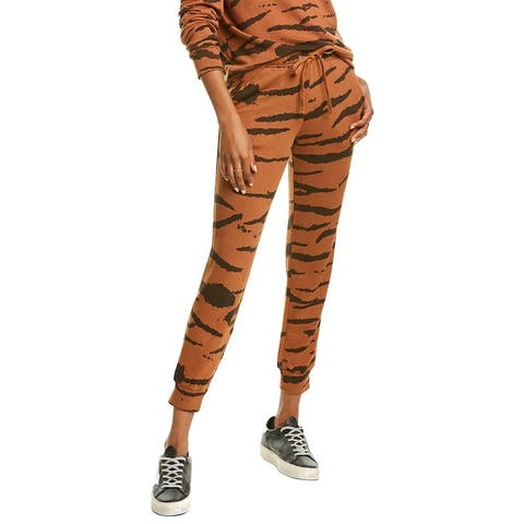 Monrow Oversized Tiger Girlfriend Sweatpant