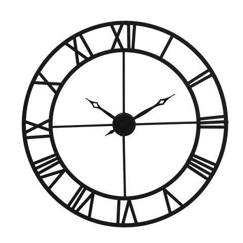 Sunjoy Black Wall Clock