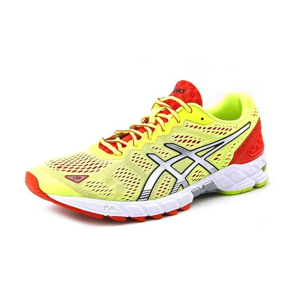Asics Gel-Ds Trainer 19 Men Round Toe Synthetic Yellow Running Shoe