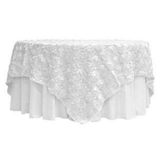 """Lamour Satin Table Runner Approx. 14""""x108"""" 100% Polyester - Plum"""