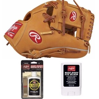 """Rawlings Heart of the Hide All Horween 11.5"""" Glove (RHT) with Game Ready Bundle"""