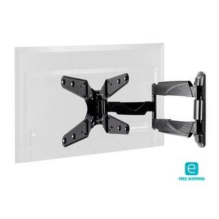 Monoprice Essentials Slim Swivel Wall Mount for Medium 24 - 55 inch TVs 77 lbs