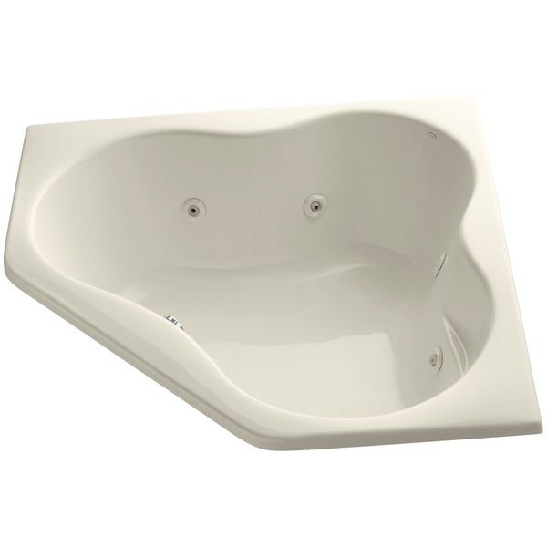 Kohler K 1154 Proflex Collection 54 Drop In Jetted Whirlpool Bath Tub With Center