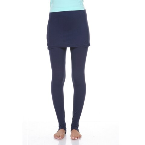 Skirted Leggings - Navy