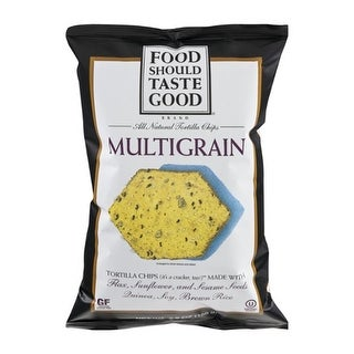 Food Should Taste Good - Multigrain Tortilla Chips ( 12 - 5.5 oz bags)