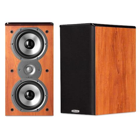 "Polk Audio TSi200 2-Way Bookshelf Speakers with Dual 5-1/4"" Drivers - Pair"